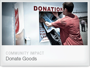 Do Good. Donate Goods.